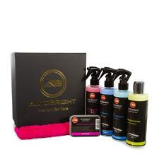 Car Wax Carnauba Gloss Clay Bar & Lub Tyre & Trim Dressings Microfibre Box Kit
