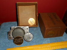 GRAND CHAMPION Jewelry Stamping Die Hub Hob Mold Equestrian Horse Ribbon Medal
