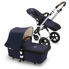 NEW Bugaboo Cameleon3 Classic+ Plus Collection Complete Stroller Navy Blue