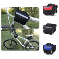 Bicycle Cycling Bike Frame Front Tube Bag Waterproof Mobile Phone Holder Pouch R