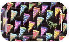 """Rolling Tray """"Neon Pizza"""" 10.5"""" x 6.25"""" Tobacco Smoke Accessories"""