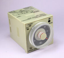 OMRON Timer H3CR-A8 ( H3CRA8 ) 100-240VAC, 100-125VDC, 1.2 seconds to 300 hours