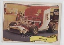 1974 Fleer Kustom Cars Stickers #BACA Barber Car Non-Sports Card 1s8