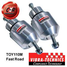 Fits 2 x Supra JZA80 (93-95) Vibra Technics Engine Mount FastRoad TOY110M