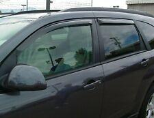Suzuki XL7 2007 - 2009 Tape-On Wind Deflector Vent Visor Shades 4pc