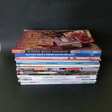 Huge Lot 22 Back Issues Magazines Crafts Art Mixed Media Jewelry Decorating +