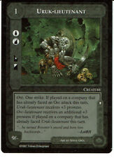 MIDDLE EARTH THE THE LIDLESS EYE RARE CARD URUK-LIEUTENANT, grade 9/10