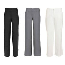 Monsoon Regular Size Linen Trousers for Women