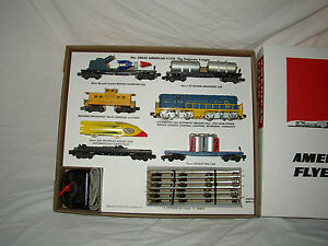 AMERICAN FLYER 20625 DEFENDER SET BOX AND INSERTS ONLY  -NO TRAINS OR CARS