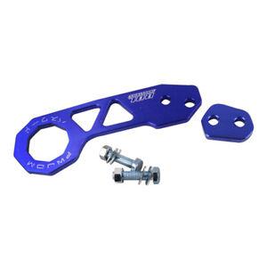 JDM Aluminum Blue Racing Trailer Hook Rear Tow Hook for Honda Acura Civic Mazda
