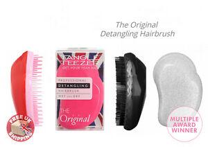 Tangle Teezer Original Detangling Hairbrush Pink Fizz Teaser Hair Brush Comb NEW