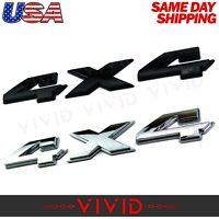 "F250 8.5/""x1.25/"" VIVID 4x4 Emblem CHROME for UNIVERSAL FORD F150"