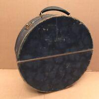 Vintage Winel Circular Record Case - Blue 12 Inch Round Case