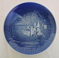 B & G Bing & Grondahl Cristmas Plate 1976