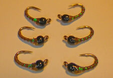 Tungsten Epoxy Green Weenie #20-Fly Fishing Flies-Trout-Wet NEW SP