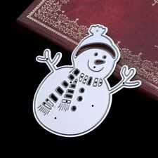 Snowman Cutting Dies Stencil For DIY Scrapbooking Album Card Paper Decor Craft