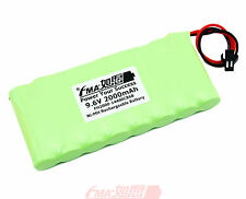 Nickel Metal-Hydride Ni-MH 9.6V 2000mAh Rechargeable Battery w/SM2P AA_8SB