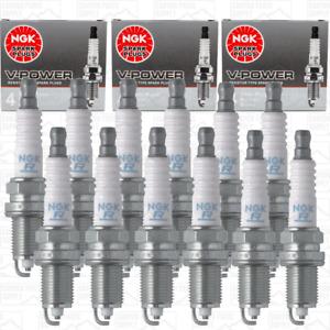 New 12pcs NGK V-POWER Spark Plugs for 2001-2002 MERCEDES-BENZ C240 V6-2.6L