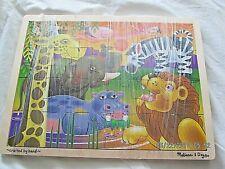 Melissa & Doug African Plains 24 pcs Jigsaw Puzzle Ages 3+ #286440 Kids Gift