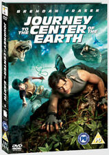JOURNEY TO THE CENTER OF THE EARTH DVD - 3D - BRENDAN FRASER - NEW / SEALED DVD