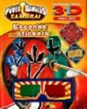 Power Rangers Samurai: 3-d Never Seen Before! Sticker Scene