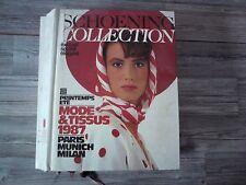 SCHOENING COLLECTION STOFFMUSTER KATALOG 1987 / AUSGABE 184