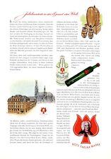 Parfum Rote Farina Gegenüber Köln XXL Reklame 1956 Parfüm Werbung +