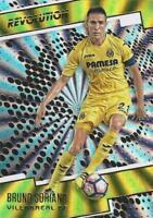 2017 Panini Revolution Soccer - Sunburst Parallel (Retail) - Villarreal - 46-49