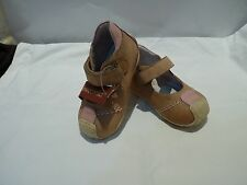 GARVALIN BIOMECANICS BABY LEATHER SHOES NEW MADE IN SPAIN SIZE 19