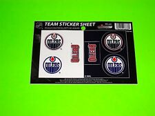 CONNOR MCDAVID EDMONTON OILERS CANADA NHL HOCKEY TEAM DECALS STICKERS SHEET
