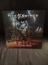 vinyl records- Dee Snider- For The Love Of Metal- New Singed By him.