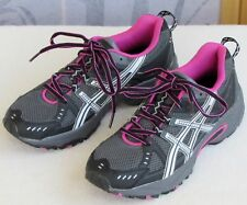 7 | Asics Gel-Venture 3 Women Black Gray Athletic Running Training Sneaker Shoe