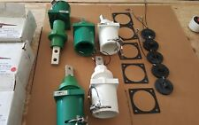 Lot of 5 Hubbell Rig Power RMP 2 Series Male Receptacle Double Hole 1000 Volts