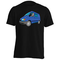 Ford Transit Man Funny Vintage Novelty Art  Men's T-Shirt/Tank Top vv41m