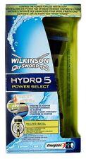 Wilkinson Hydro5 POWER SELECT Rasierer inkl. 1 Rasierklinge - weiß - NEU