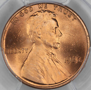 1982 Zinc Large Date PCGS MS67RD Lincoln Cent 37677957