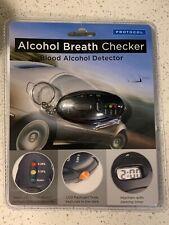 Alcohol Breath Checker Mini KeyChain/Light/Park Timer BAC Detector Breathalizer