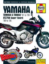 Genuine Haynes Workshop Manual 3540 Yamaha TRX850 TDM850 XTZ750 1989-1999