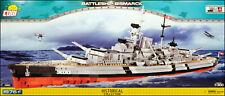COBI Bismarck (4810) - 1976 elem. - WWII German battleship 1:300
