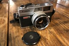 Canon Canonet QL17 GIII Rangefinder Camera with New Light Seals