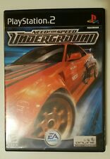 COMPLETE Need for Speed: Underground PS2 (Sony PlayStation 2, 2003)