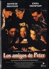 Kenneth Branagh: LOS AMIGOS DE PETER con Emma Thompson. AGOTADO en todo formato.