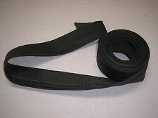 "8 yard Piece of 2 5/8"" Wide Black Ready Made Menswear Waistband Interfacing"