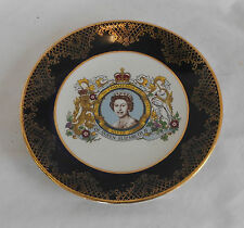 STUNNING Vintage Collectable WEATHERBY FALCON WARE ELIZABETH II JUBILEE PLATE