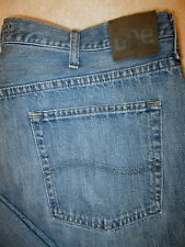Lee Relaxed Straight Leg Mens Blue Denim Jeans Size 40 x 30 Style #2105640