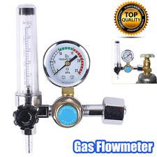 Welding Gas Meter Argon CO2 Pressure Flow Regulator MIG MAG Weld Gauge Kit
