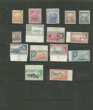 COLLECTION OF EARLY MINT BARBADOS STAMPS (NOV19A)