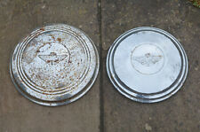 2x classic metal Austin Gipsy wheel trim hubcap hub cap cover
