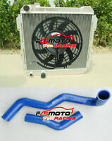 Radiator Fan + Blue Hose For TOYOTA HILUX LN60 LN61 LN65 LN85 2.4LTR Diesel MT
