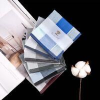 Square Plaid Cotton Sweat Handkerchiefs 43*43cm Men's Pocket Hanky Hand Towel DP
